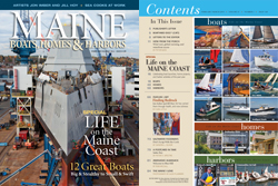 Maine Boats, Homes and Harbors Issue 128