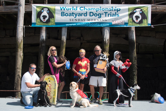 Every competitor is a winner at the Boatyard Dog® Trials!