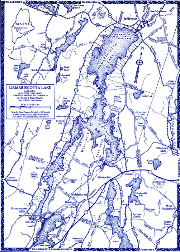 Jefferson Maine Map.Small Adventures Damariscotta Lake Maine Boats Homes Harbors