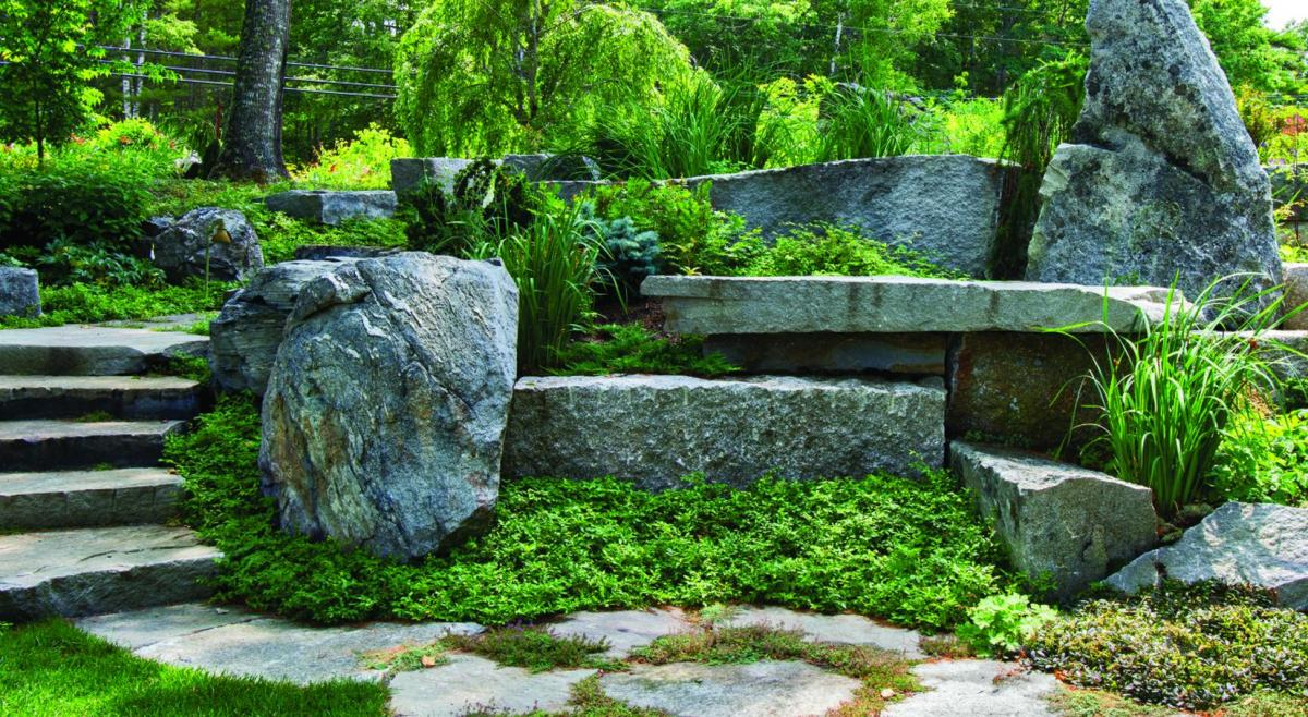 Ode to the stones maine boats homes harbors for Landscaping rocks east bay