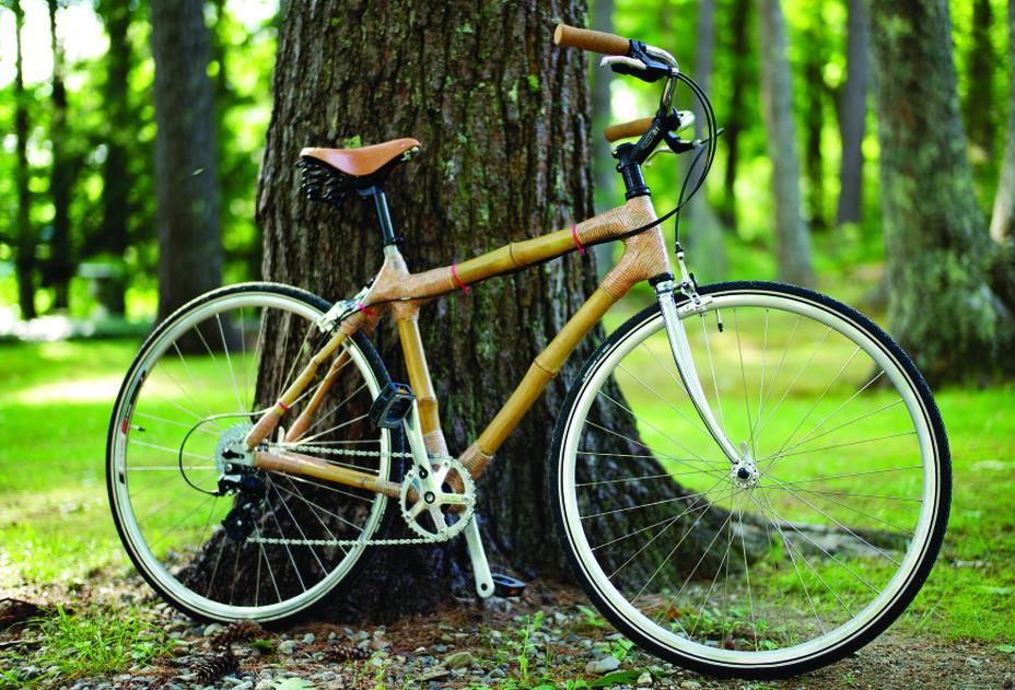 Building A Bamboo Bike Maine Boats Homes Harbors