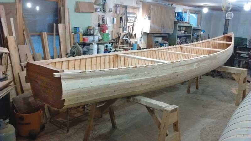 The Grand Laker Canoe   Maine Boats Homes & Harbors