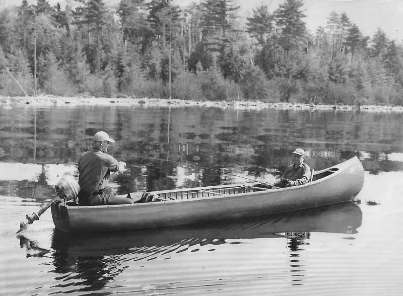 The Grand Laker Canoe | Maine Boats Homes & Harbors