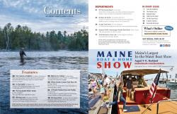 Maine Boats, Homes and Harbors Issue 158