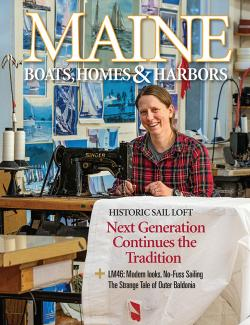 Maine Boats, Homes & Harbors, Issue 163