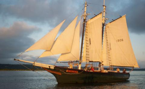 Historic Maine-Built Schooner Comes Home