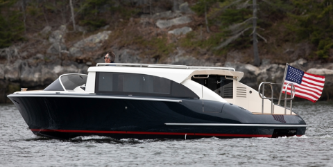 Hodgdon Launches Smallest Limousine Tender Yet