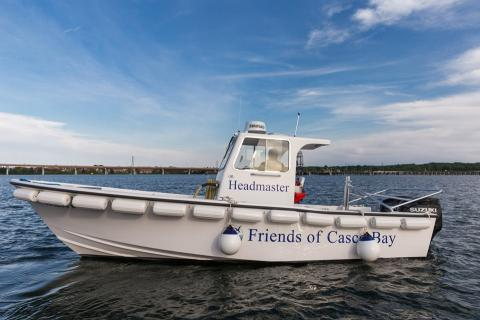 Friends of Casco Bay launches new, bigger pumpout boat