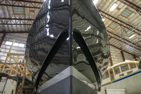 Big milestone at Gamage Shipyard