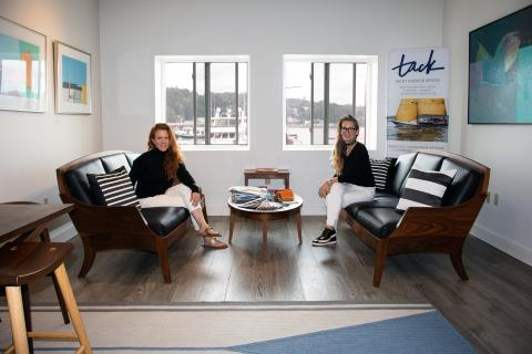 Front Street Shipyard opens new client lounge and interior design showroom