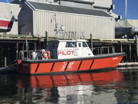 Pen Bay Pilots get a new, bigger, pilot launch
