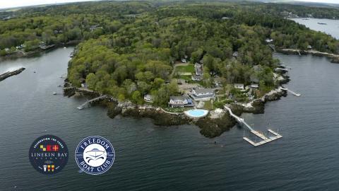 Linekin Bay Resort newest site for Freedom Boat Club