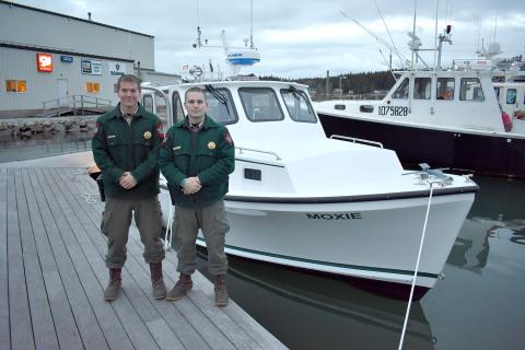 Marine Patrol gets a new ride