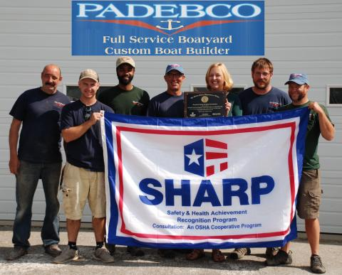 Padebco's focus on workplace safety noted by OSHA