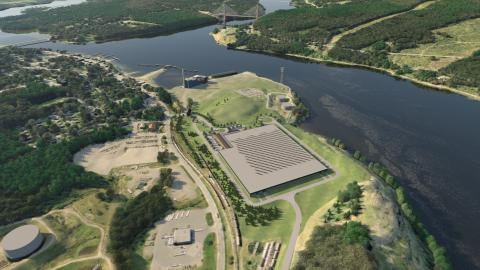 Land-based salmon farm planned on former mill site