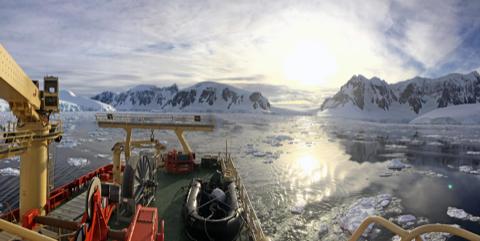 Science on Ice: Bigelow Team Studies Antarctic Phytoplankton
