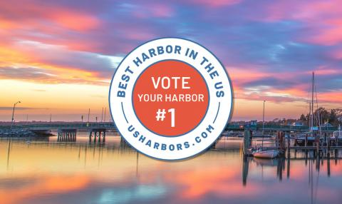 "Voting has begun in the annual ""Best Harbor in the U.S."" contest"