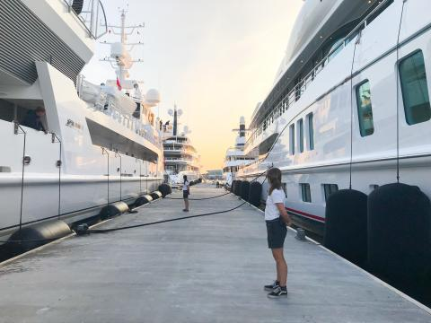 Summer of the superyachts