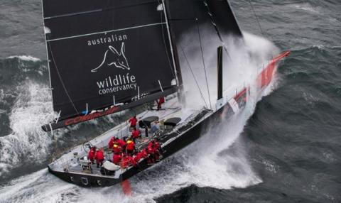 Comanche sets new transatlantic sailing record