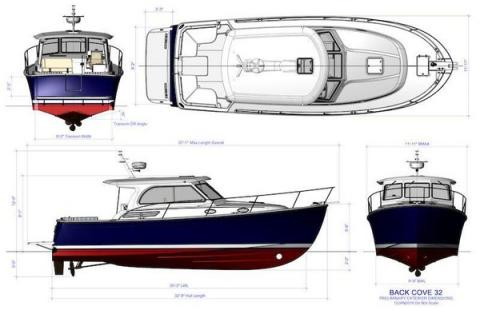 Back Cove Yachts debuts new 32' model