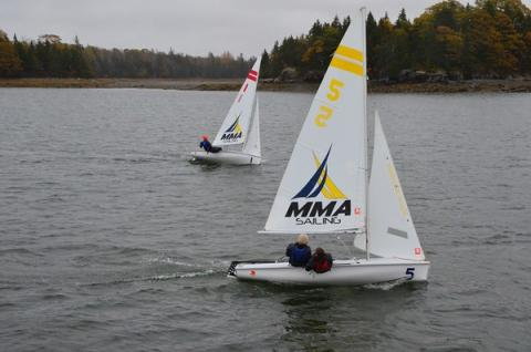 Rockland sailing team tops in state