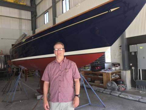 New leader at Morris Yachts