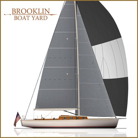 Brooklin Boat Yard starts work on Taylor 44