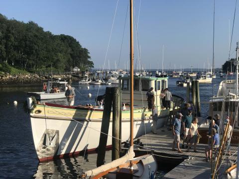 Former sardine carrier reborn as cruising yacht