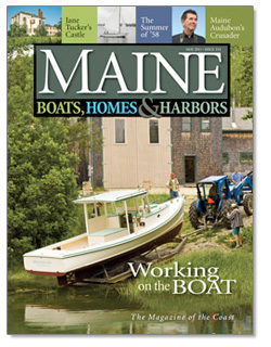 Maine Boats, Homes and Harbors Issue 114 Cover