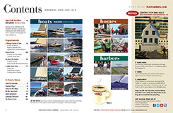 Maine Boats, Homes and Harbors Issue 138