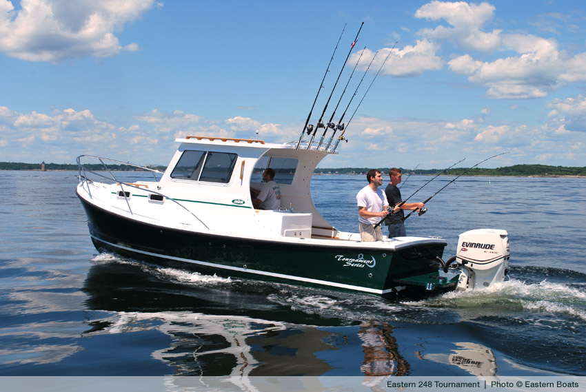 Just Launched: Eastern 248 CC, Explorer, Tournament | Maine Boats Homes & Harbors