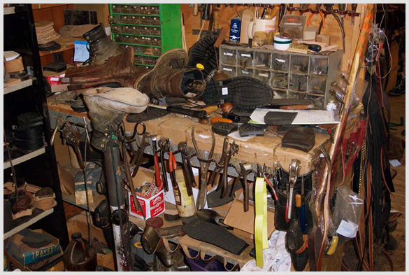 Shoe Repair Workbench