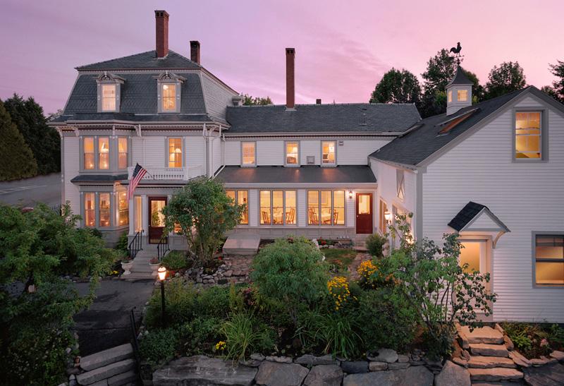 Hartstone Inn Restaurant Camden Maine