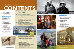 Maine Boats, Homes and Harbors Issue 108