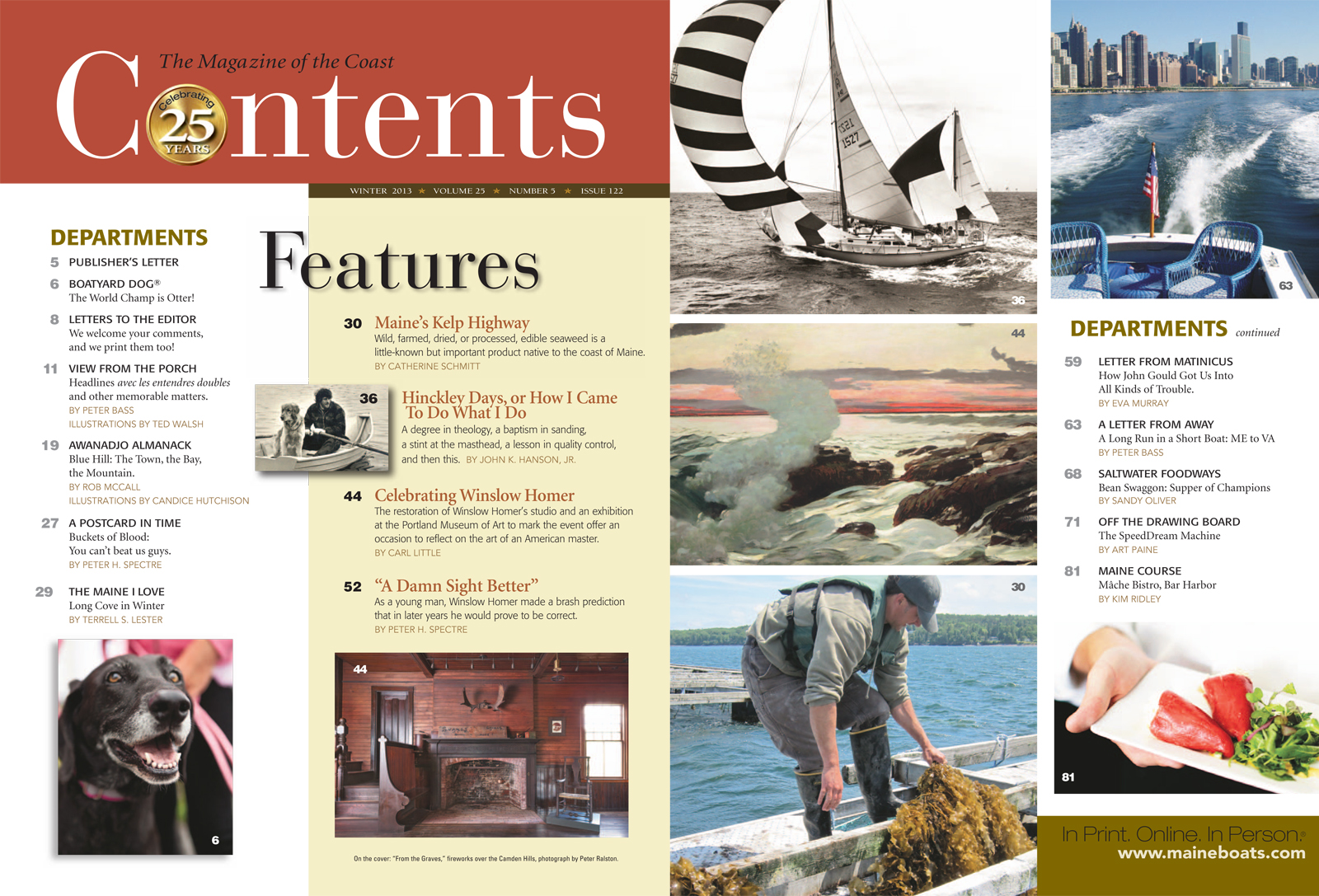 Maine Boats, Homes and Harbors Issue 122