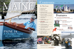 Maine Boats, Homes and Harbors Issue 127