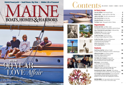 Maine Boats, Homes and Harbors Issue 129
