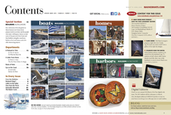 Maine Boats, Homes and Harbors Issue 133