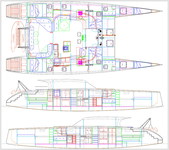 Art Line Yacht Design : Just launched mala conducta maine boats homes harbors