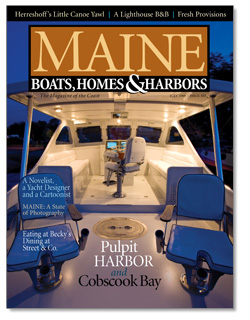 Maine Boats, Homes & Harbors, Issue 105