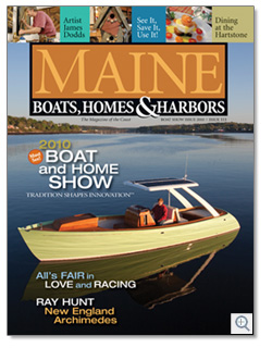 Maine Boats, Homes & Harbors, Issue 111
