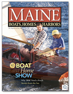 Maine Boats, Homes & Harbors, Issue 121