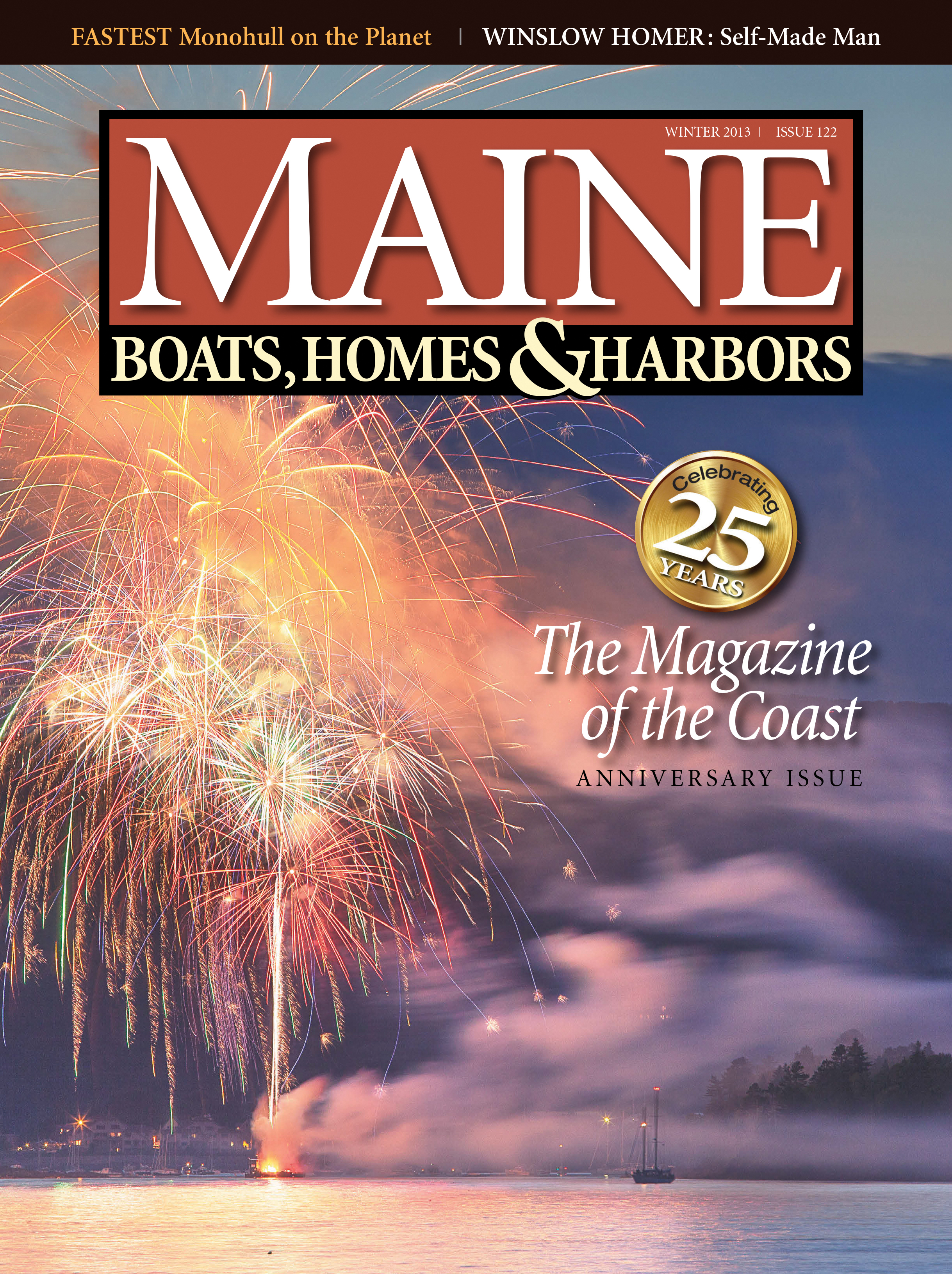 Maine Boats, Homes & Harbors, Issue 122