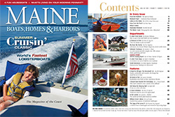 Maine Boats, Homes and Harbors Issue 130