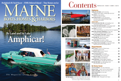 Maine Boats, Homes and Harbors Issue 131