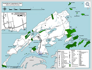 North Haven Conservation map