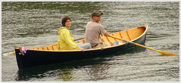 Thorne's Herreshoff Rowboat restoration
