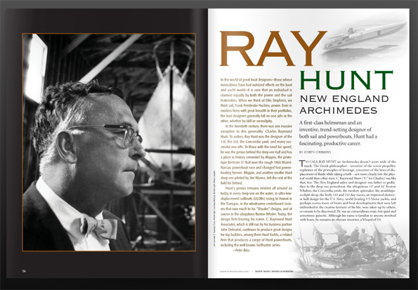 Ray Hunt in issue 111