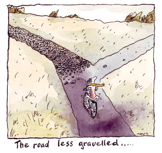 Road Less Gravelled