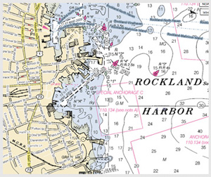 Rockland Nautical Chart